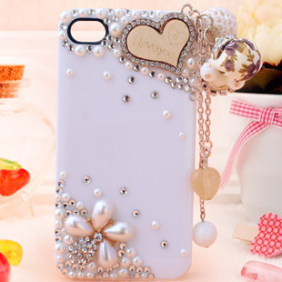 Wood tassel d770 d700 d720 rhinestone phone case shell rhinestone pasted phone case