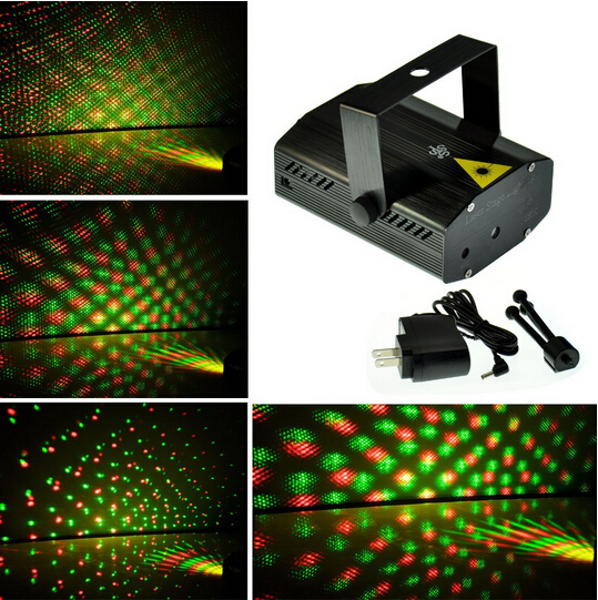 Free Shipping Black Disco DJ Party Club Sound Active DJ Dance Studio Laser Stage Lighting Light()