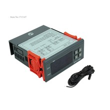 110 V Digital STC-1000 All purpose termostato regulador de temperatura controlador con sensor de