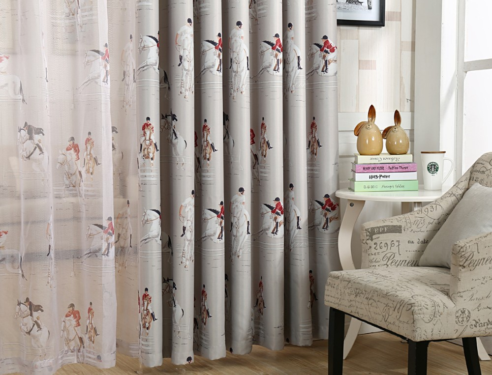Buy New Arrival Window Curtain For Living Room Bedroom Blackout Fabric Drapes