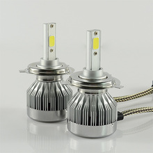 Buy Car LED Headlights H7 H8 H11 HB3/9005 9006 H1 H3 H4 H10 5202 9007 9004 H13 H27 880 881 Auto Front Bulb 60W Automobiles Headlamp for $15.81 in AliExpress store
