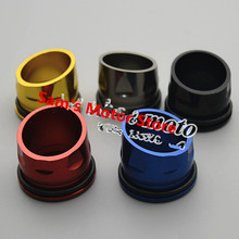 T-MAX530 TMAX530 Motorcycle Exhaust Muffler Pipe End Decoration Cover Cap(China (Mainland))