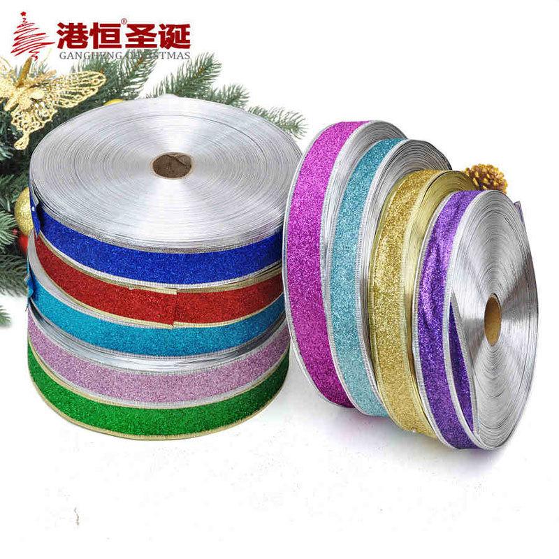 200x3cm Luxury Ribbon Christmas Decorations For Home Xmas