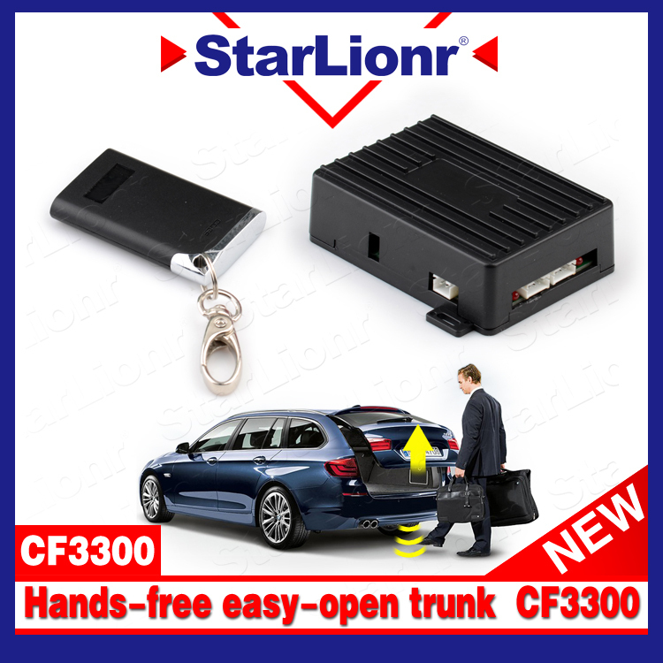 Free shipping Factory Wholesales foot operated easy open car trunk release PKE smart Sensor Hands-free opener system(China (Mainland))