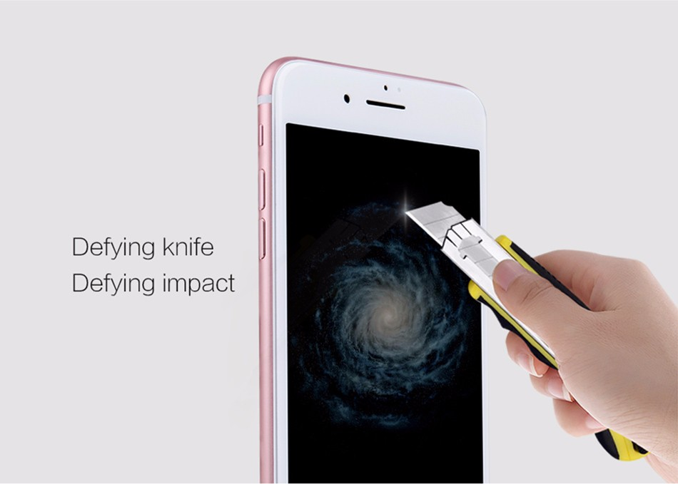 For iPhone 7 3D CP+ MAX Anti-Explosion Full-screen Cover Tempered Glass Film NILLKIN Screen Protector Film For Apple iPhone7 4.7