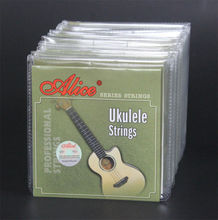 "Buy 10 Sets Alice AU041 Clear Nylon Hawaii Guitar Strings Soprano Concert Tenor 21"" 23"" 26"" Ukulele Strings for $17.00 in AliExpress store"