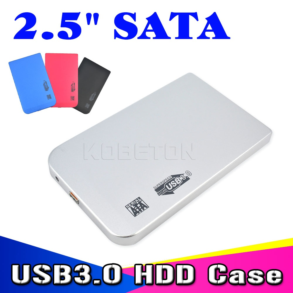 2015 New Sata to USB 3.0 HDD Case Tool Free 2.5 HDD Enclosure for Notebook Desktop PC (Not including HDD)(China (Mainland))