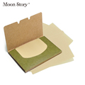 200pcs 2pack Green Tea Oil Control Absorption Film Tissue Makeup Blotting Paper Oil Removal Paper absorbing
