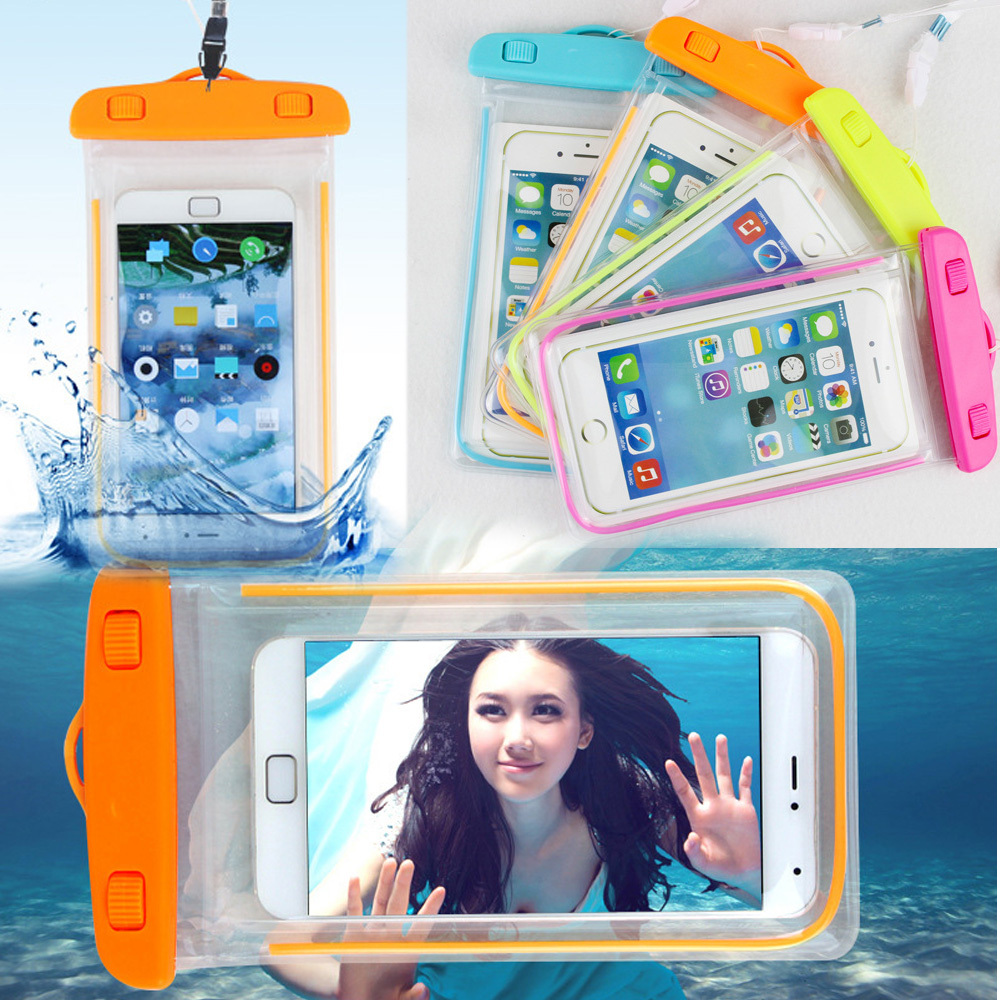 100% sealed Waterproof Durable Water proof Bag Underwater back cover Case For iPhone For touch Pouch For Samsung Galaxy For HTC(China (Mainland))