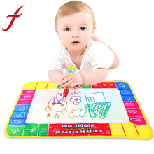 Feitong New Arrival 29X19cm Water Drawing Painting Writing Mat Board Magic Pen Doodle Toy Gift Free Shipping&Wholesales(China (Mainland))