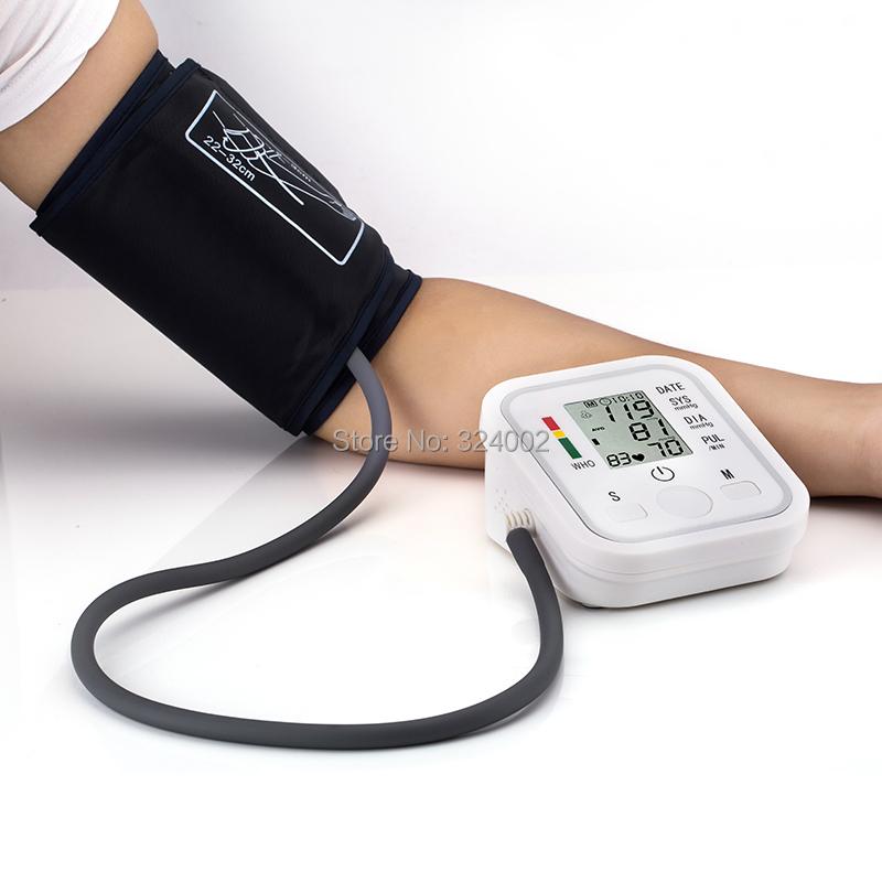 health care Digital arm Blood Pressure Pulse Monitor health monitor meter Sphygmomanometer Portable Blood Pressure Monitors(China (Mainland))