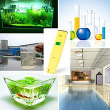 Buy Pen Temperature Compensation ATC LCD Acid Aquarium Water Salt Pool Tester Aqua Medidor de PH Meter Acidometer Analyzer for $6.44 in AliExpress store