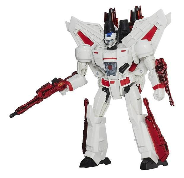 Leader class 4.0 IDW anime robot Electroplating Coating Jetfire photon missile launcher classic toys for boys L0016(China (Mainland))