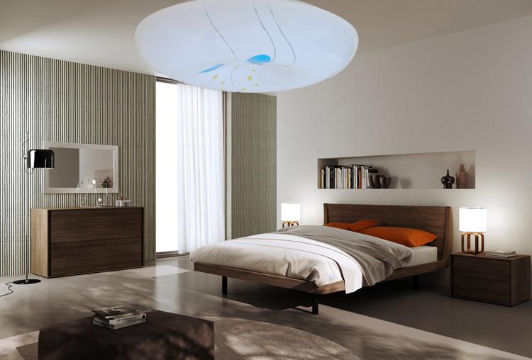 Banquette decorazione rotin - Illuminazione soggiorno moderno ...