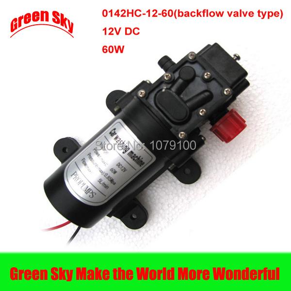 5L/Min. DC12V 60W High Pressure mini liquid diaphragm pump(China (Mainland))