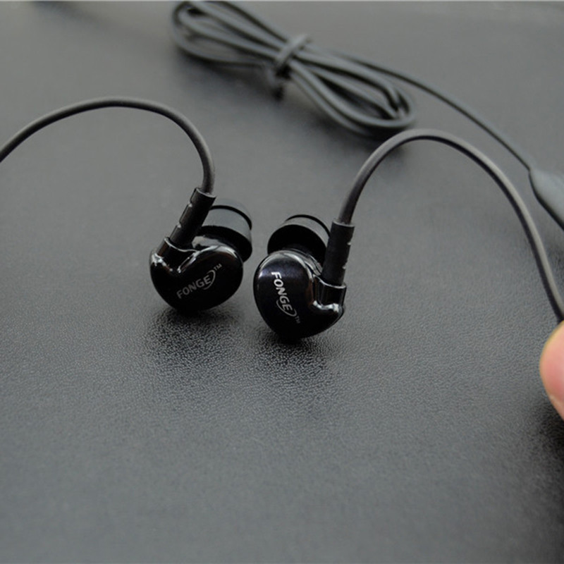 New Arrival Sport Earphone Original FONGE IN-Ear headphone 4 color Available  For most of Phone and MP3