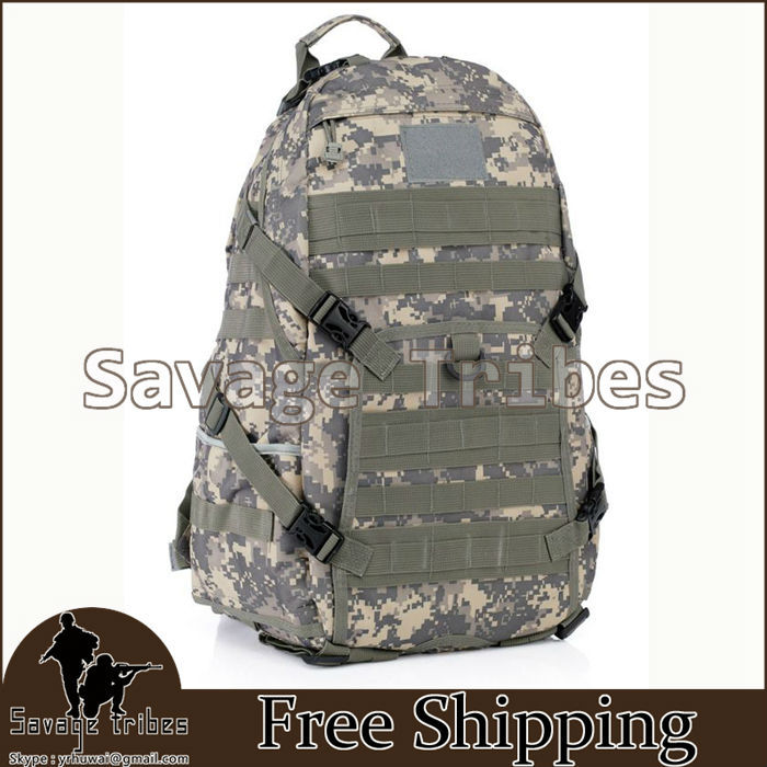 TAD Military Tactical Assault Backpack Outdoor Camping Travel Hiking Maintaineering Bag Molle backpack free shipping(China (Mainland))