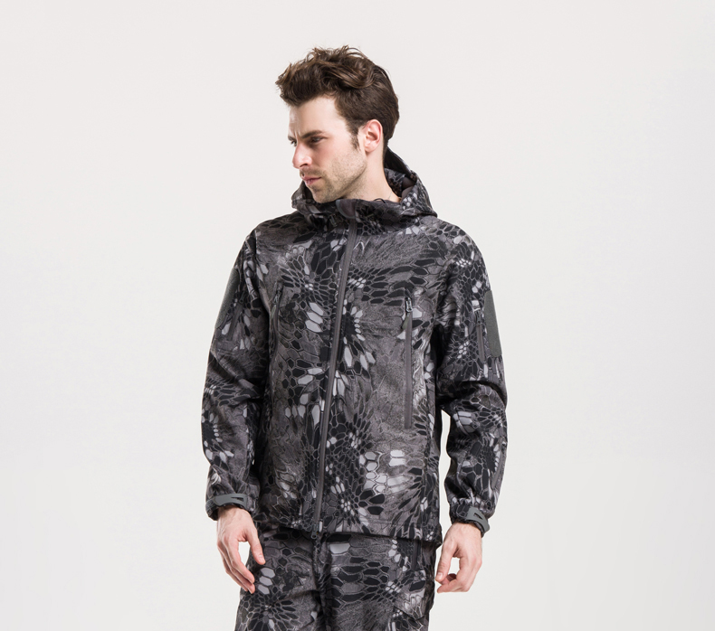 High Quality TAD V 4.0 Men Outdoor Military Tactical Jacket Lurker Shark Skin Soft Shell Waterproof Windproof Sport Army Clothes<br><br>Aliexpress