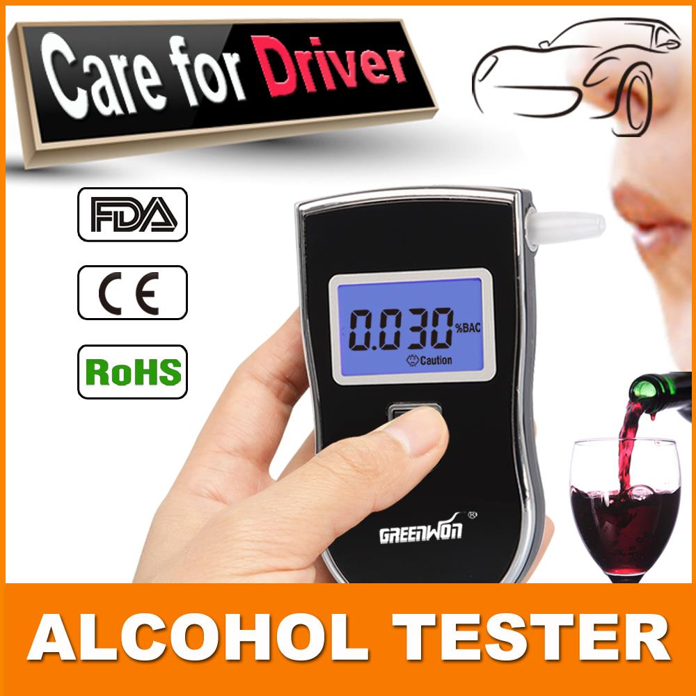 In 2015, professional police digital breath alcohol tester is portable detector, liquid crystal display (LCD) alcohol tester(China (Mainland))