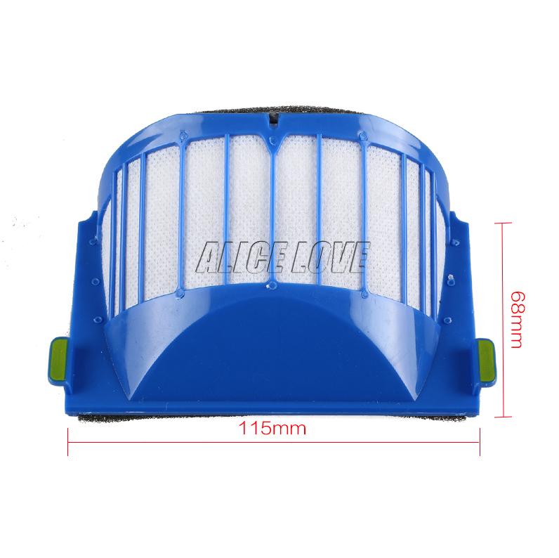 4pcs hepa filter suitable for ROOMBA IROBOT 500 600 SERIES AEROVAC FILTER 528 536 551 552 564 580 595 620 630 650(China (Mainland))