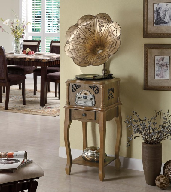 Fashion gift technology antique collections of home decoration - classic function antique phonograph 368a