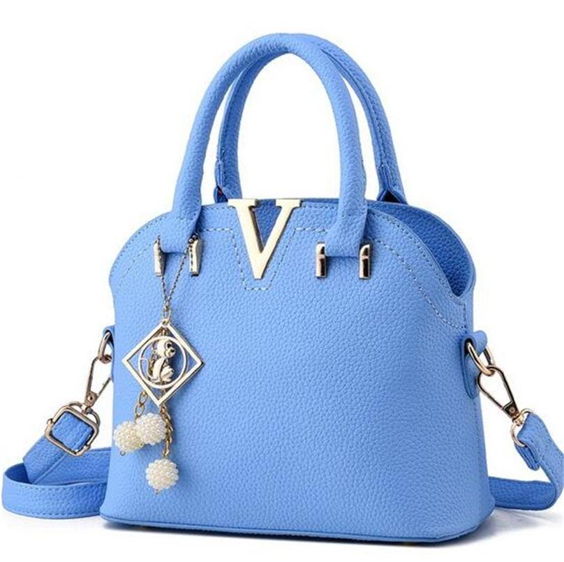 Hot Fashion Womens Retro V re Color Handbag Lady PU Leather Shoulder Bag Totes Boston Women Messenger  -  Boutique Shopping Center Store store