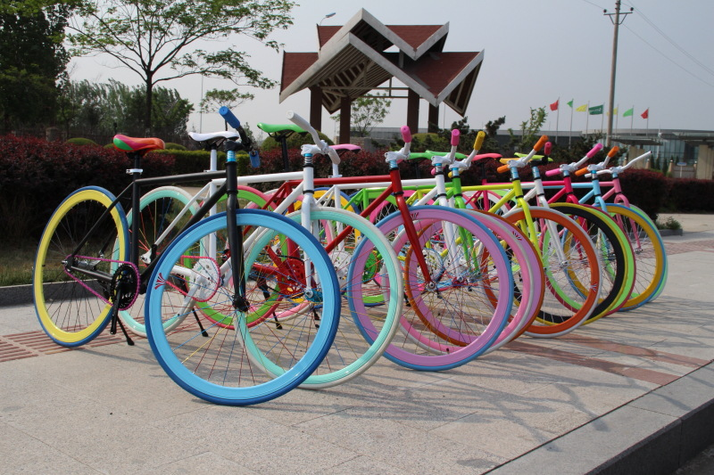 mini Fixed Gear Bikes bicicleta mountain bike New Listing Highway Mini electric car Cheap deal variety colors - One royal clothing flagship store