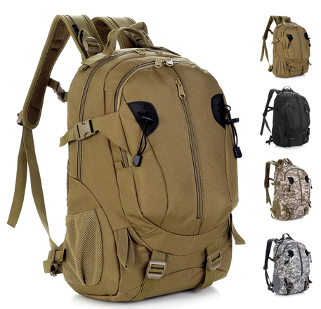 Brand MOLLE casual men travel camping hiking backpack US military camouflage tactical sports big man bag outdoor waterproof - eBags CHINA store