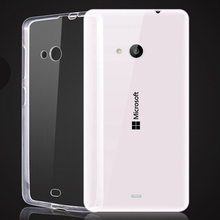 2017 Unique Design Soft TPU Cell Phone Cover Cases for Microsoft Lumia 540 640 Hot Selling Clear Crystal Transparent Accessories(China (Mainland))