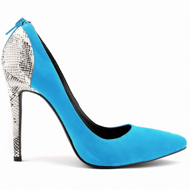 Free shipping WOMENS FAUX Velvet SEXY HIGH HEELS POINTED TOE CORSET ZIPPER PUMPS COURT WEDDING 10 COLOR SHOES SIZE35 - 42 302-25