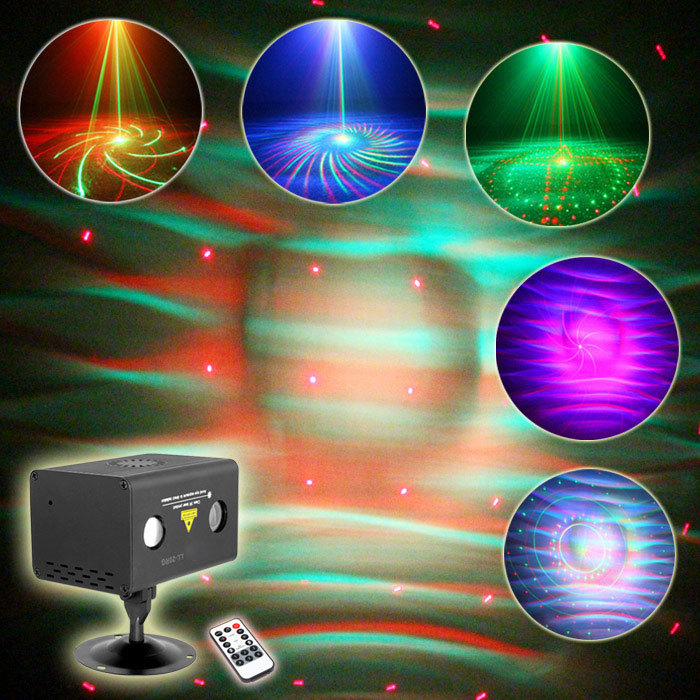 New Version Party Show System Projector Laser Light RGB ...