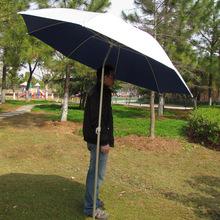 Wholesale outdoors parasol fishing umbrella   folding  aluminum frame universal steering gear advertising  Painted  umbrella 2M(China (Mainland))