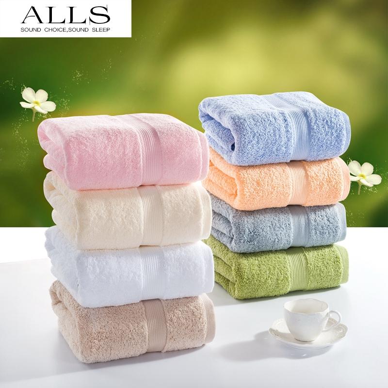 100% egyptian cotton bath towel for adults male/female plain Satin towel white pink blue grey beach towel 70x140cm YJ-5038(China (Mainland))