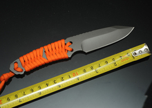 5Cr15MoV Steel Very Sharp Camping Knife Fixed Blade Diving Small Straight Knife With Belay Handle H370