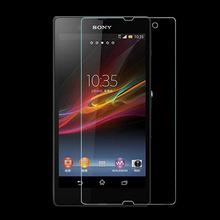 Защитное закалённое стекло 0.3мм для Sony Xperia Z Z1 Z2 Z3 Z4 T2 C3 SP M35H L S36H