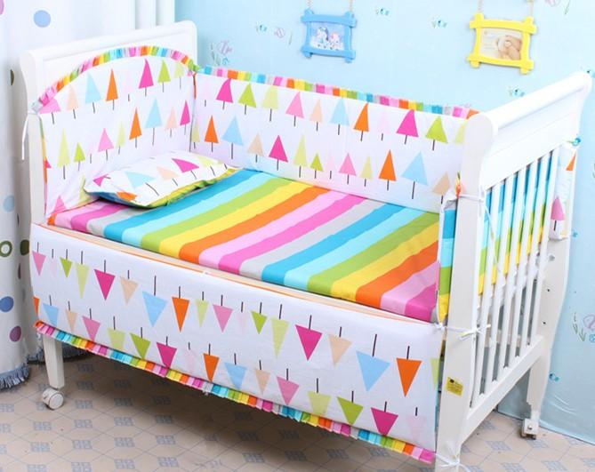 Discount! 6pcs baby bedding set baby bumper bed sheet crib bedding set ,include(bumper+sheet+pillowcase)<br><br>Aliexpress