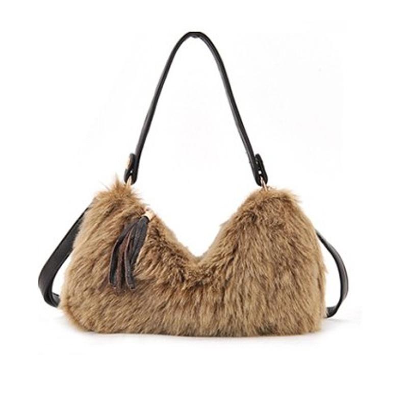 prada black leather - Online Buy Wholesale faux fur handbag from China faux fur handbag ...