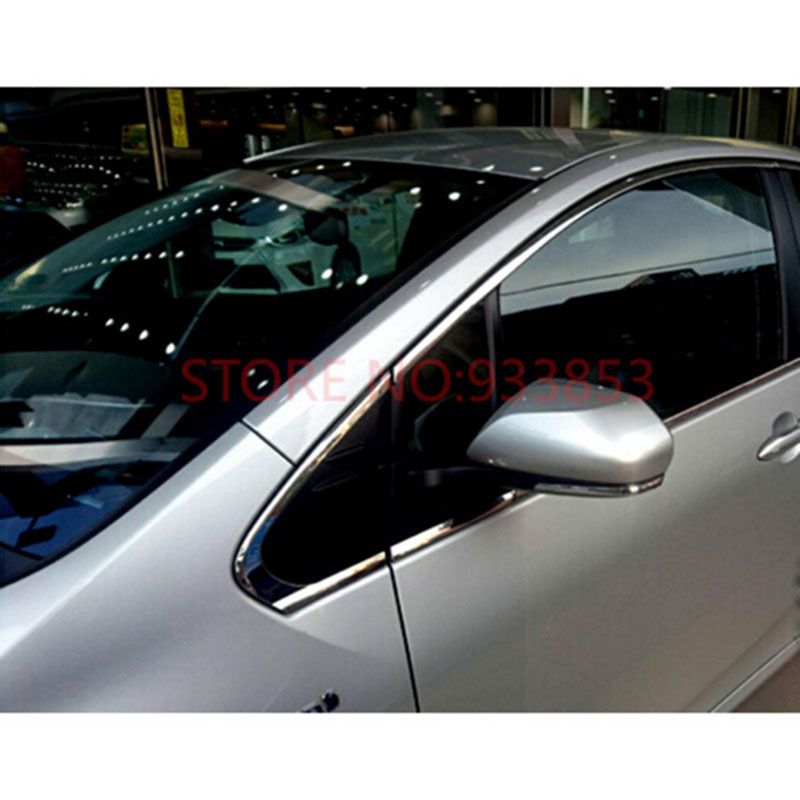 Tomefon 4pcs For Toyota Corolla 2017 Facelift Abs Chrome: Window Moulding Trim Promotion-Shop For Promotional Window
