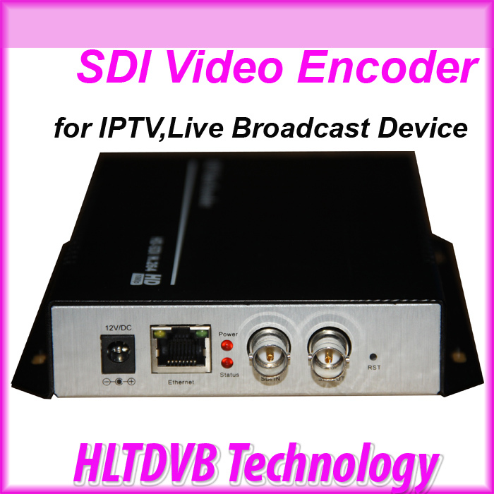 DHL Free Shipping H.264 3G HD SD SDI Encoder for IPTV, Live Stream Broadcast by RTMP/ HTTP/ RTSP/VLC for Media Server(China (Mainland))