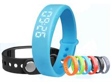 Fashion LED Smart Wristband W5 Smart Bracelet Pedometer Sleep Tracker Thermometer Smart Wristband Fitness Tracker Smart watch