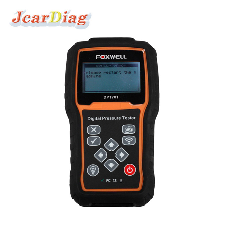 Best quality for Foxwell DPT701 Digital Common Rail High Pressure Tester with dhl free shipping(China (Mainland))