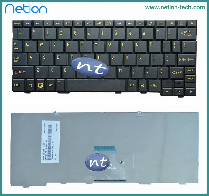 Free shipping hot selling New Original US Keyboard For Toshiba Minin AC100 AC100-10D AC100-10U AC100-10Z Black Teclado(China (Mainland))