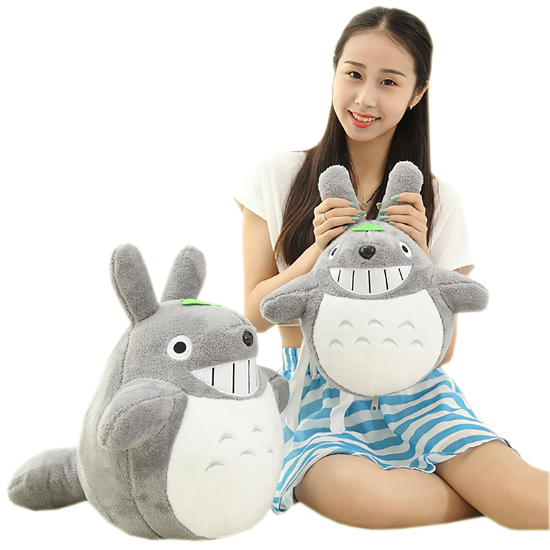 BIG SIZE 45cm lovely totoro Stuffed doll High qulity Kawaii Totoro plush Animals toy Movie character cartoon soft kids toys gift(China (Mainland))