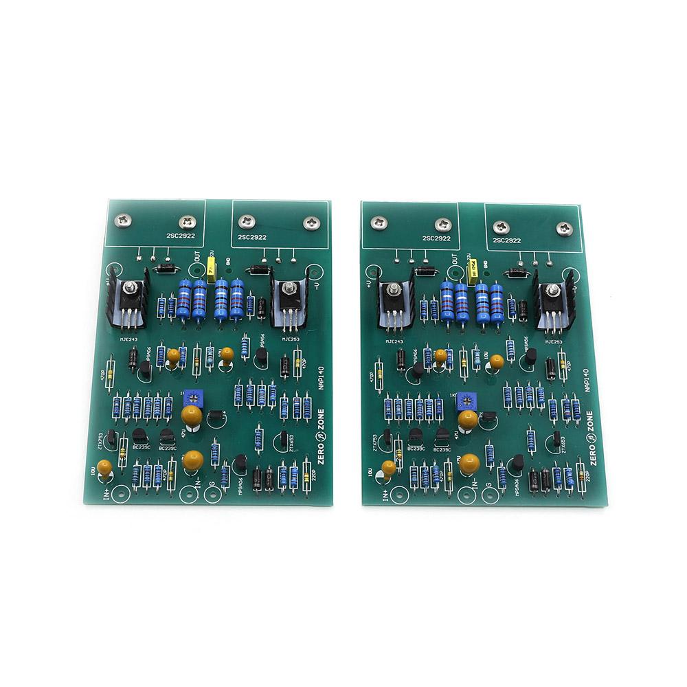 Assembled 2 channels AMP NAP140 Clone UK NAIM NAP140 Power Amplifier finished board X2(China (Mainland))