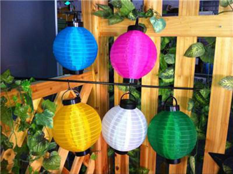 Здесь можно купить  LED Solar Lanterns Chinese Solar Lantern Lamps Solar Christmas Light Solar Powered Chinese Lantern For Yard Garden Park Light Au  Свет и освещение
