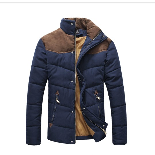 003 autumn and winter plus size mens clothing slim denim wadded jacket outerwear 9035Одежда и ак�е��уары<br><br><br>Aliexpress