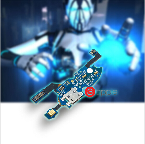 100% Original Micro USB Charging Port Connector Motherboard Flex Cable For Samsung Galaxy S4 Mini i9190 i9192 P5(China (Mainland))