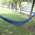 Bold mesh hammock outdoor hammock indoor dormitory cot bed adult and children swing nets many color