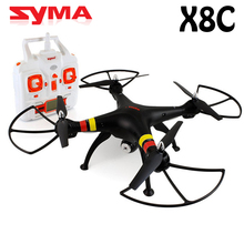 Syma X8C 2.4G 4ch 6 Axis Drone with Camera 2MP RC Quadcopter RTF RC Helicopter Headless Mode 360 Rotation Free Shipping