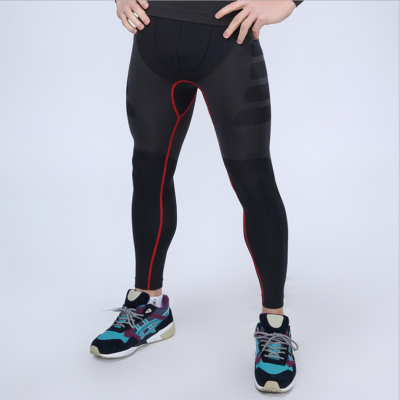 Men Compression Pants tight stretch trousers Quick-drying breathable Fitness Shapers Pants(China (Mainland))